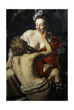 Granida and Daifilo  1625  by Gerard Van Honthorst (1592-1656) Netherlands