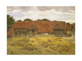Red Barn at Whitchurch  1868