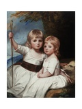Mary and Louise Kent  C1784-84