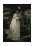 Portrait of a Girl in a Garden  C1786-88