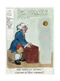 The Ghost of a Guinea! or the Country Banker's Surprise!!  1804