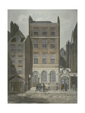 View of Snow's Banking House and Twining's Tea Merchants  Strand  Westminster  C1810