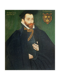 Portrait of a Gentleman  Traditionally Called a Member of the Dacre Family  1571
