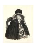 Jean in a Black Hat  1923-24