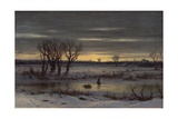 Winter Twilight Near Albany  1858