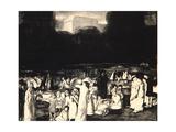 In the Park  Dark  1916