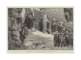 French Soldiers Visiting the Ruins of the Temple of Karnak  Egypt  1798