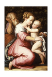 The Holy Family  16th Century