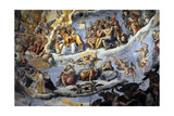 Italy Florence Dome of Brunelleschi Last Judgement  by Giorgio Vasari and Zuccari