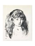 Sketch of Anne  1923-24