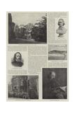 Alfred  Baron Tennyson  Poet Laureate
