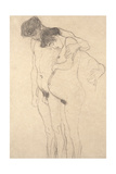 Pregnant Woman with Man: Study for Hoffnung I  C1903-4