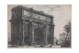 View of the Arch of Septimus Severus  1772