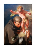 The Vision of Saint Anthony of Padua C1730