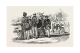 Yachting in the Isle of Wight: Group of Yachtsmen  1846