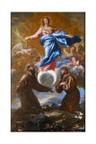 The Immaculate Conception with Saints Francis of Assisi and Anthony of Padua  1650