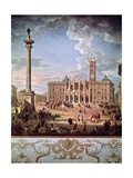 Piazza and Church of Santa Maria Maggiore  1742