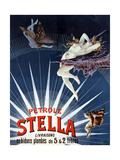 Vintage Petrole Stella Poster  1897