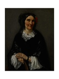 Portrait of Anika Psalmon  Mrs Robin  1862