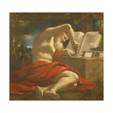 St Jerome Sealing a Letter