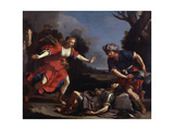 Erminia Finding the Wounded Tancredi