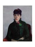 Woman with a Rose; La Femme a La Rose  1884