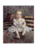 Child on a Sofa  1885