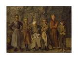 Cave Dwellers  Dieppe  1907