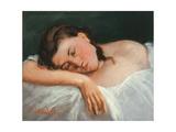 Young Girl Asleep  1847