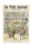 Title Page Depicting the Mid-Lent Parade in Front of the Petit Journal Offices from the Illustrated