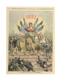 Universal Suffrage from the Supplement of 'Le Petit Journal'  19th August 1893