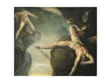 Prometheus Freed by Hercules  1781-1785