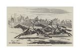 The Deciding Heat for the Cesarewitch Stakes  1857