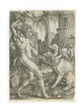 Hercules Chains Cerberus  1550