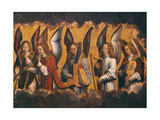 Christ with Singing and Music-Making Angels
