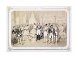Court Reception at the Tuileries  Paris  1854