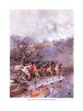 The Defeat of Louis Riel  Fish Creek  1885  C1920