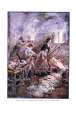 Heroic Defence by Madeleine De Vercheres and Her Brothers 1692  C1920