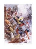 Dollard Strikes His Last Blow 1658  C1920