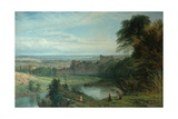 Landscape with Castle and River and Chepstow Castle  1862
