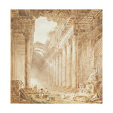 A Colonnade in Ruins  1780