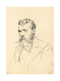 Portrait of a Man with Moustache and Beard  C 1872-1875