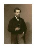 Portrait of Mikhail Konstantinovich Klodt (1832-1902)  1871