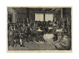 The First Visit of William Penn to America  a Conference with the Colonists