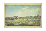 William Curtis's Botanic Gardens  Lambeth Marsh  C1787