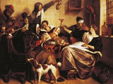 As the Old Sing  So Pipe the Young  1665