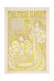 An Advertising Poster for Delft Salad Oil  1894