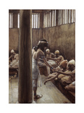 Joseph Distributes Bread in Prison