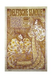 Delftsche Slaolie  Advertising Poster for Salad Dressing  1895  by Jan Toorop (1858-1928)