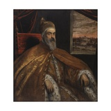 Portrait of Doge Marino Grimani  1600-25